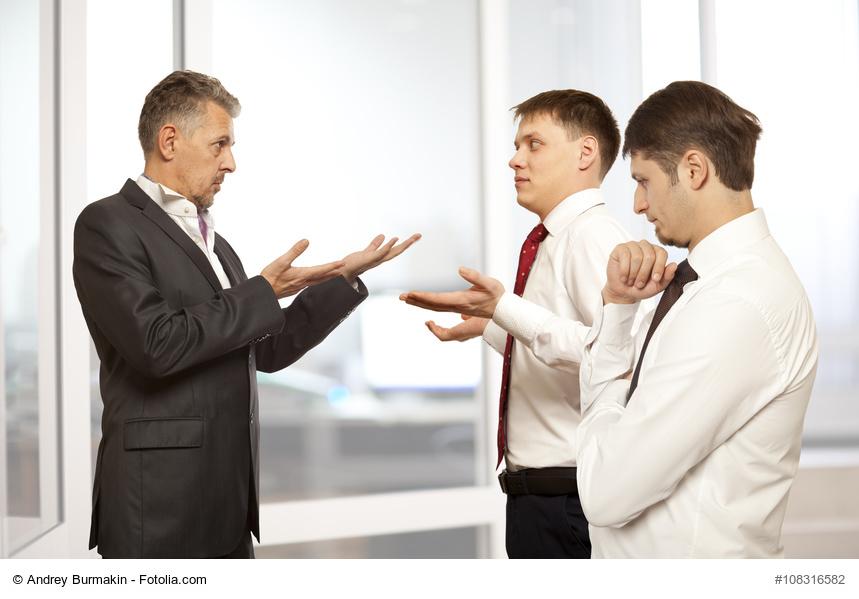 Business, Chef, Mitarbeiter, Streiten, Streitkultur, Offenheit, Beziehung, Stefan Reutter