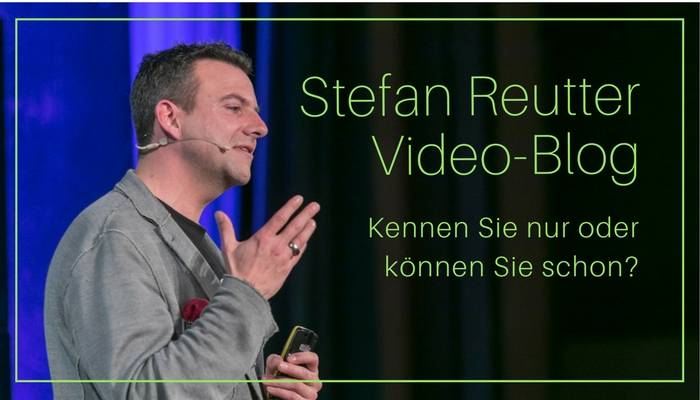 Satz, Stefan Reutter, Kennen