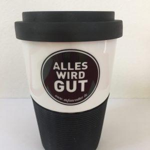 Coffee to go, Becher, Stefan Reutter, Alles wird gut