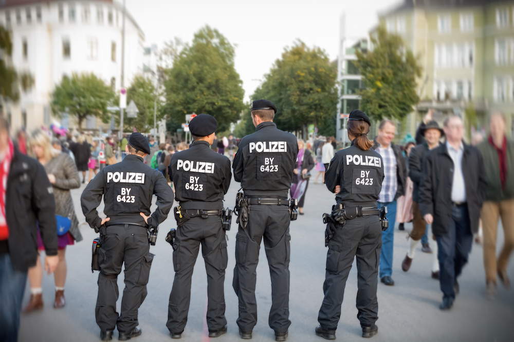 Wiesn, Wie´sn, Polizei, München, Oktoberfest, Tradition, Stefan Reutter,