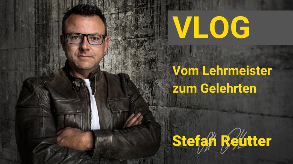 Vlog, Stefan Reutter, Lehrmeister, Golf, Positivität, Einstellung