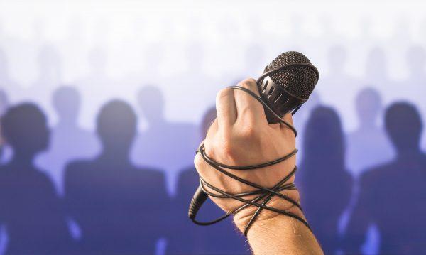 Versagensangst, Rede, Vortrag, Bühnenfieber, Stefan Reutter